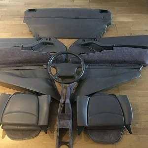 Aufträge car interieur (2 front & rear seats and some more interieur parts)